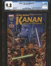 Star Wars Kanan: The Last Padawan # 1 CGC 9.8 NM/MT  1st App. Ezra, Sabine Wren