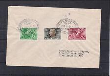 Satzbrief Regierungsjubiläum 1940 adressiert nach Graz mit Sonderstempel