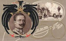 2 AK 1914 Unsere Kaiser. Prinz Adalbert, Prinz Oscar, Prinz August Wilhelm.