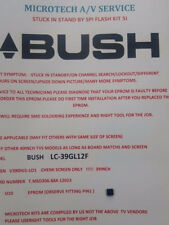 BUSH LC-39GL12F T.MSD306.68A 12023 V390HJ1-L01   EPROM REPAIR KIT READ ADVERT