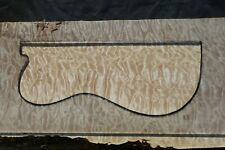 "AWESOME QUILTED MAPLE 24 7/8"" X 11 5/8"" X 2 1/16"":GUITAR, LUTHIER, CRAFT, SCALES"
