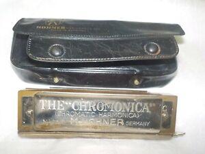 Vintage HOHNER Chromonica 260 made in Germany