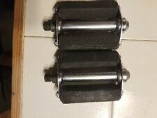 Phillips. Made in England.  Vintage Block Bicycle Pedals
