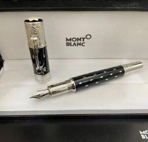 Montblanc Queen Elizabeth Memorial Edition Silver signature Fountain Pen