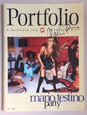Mario Testino firmado fotógrafo estrella original firma firma autógrafo