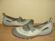 Merrell Shoes Women's Size 11 Mimosa Mary Jane Suede Sage Leaf Flats Cycletread