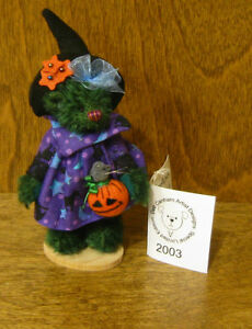 "DEB CANHAM Artist Designs SPELLCHICK Halloween Coll 3.75""  NEW From Retail Store"