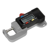 "AK9638D Sealey Digital External Micrometer 0-12.7mm/0-0.5"" [Measuring]"