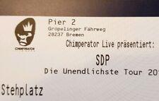 Tickets SDP Bremen 29.04.20 Stehplätze Eintrittskarten Konzertkarten Karten
