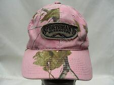 SPORTSMAN'S WAREHOUSE - PINK CAMO - ADJUSTABLE BALL CAP HAT!