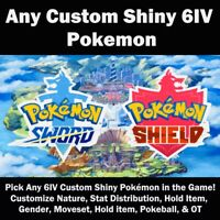6IV Ultra Shiny Gyarados Pokemon Sword and Shield Square Shiny