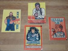LOT OF 39 VARIOUS VINTAGE PICTURE ALBUM COLLECTOR CARDS MONKEES UNCLE E.T. +++