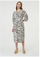 🎬 NEW GORMAN LOST IN TRANSLATION LINEN DRESS AUS 14-16 X/XL🎬