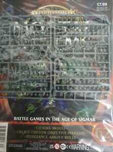 """Warhammer AoS Mortal Realms """"CITADEL SKULLS"""" Sealed (Issue 62)"""