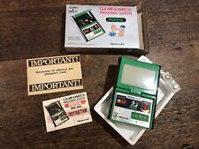 Vintage Popeye PG-92 Game & Watch Panorama Screen Nintendo Retro Japan with Box