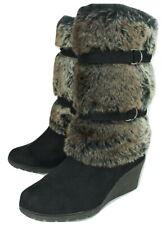 Pavers Faux Fur Boots UK 6 EU 39 US 8