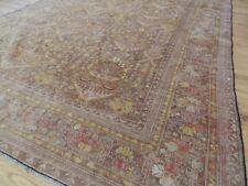 7x10  8x10 Semi-Antique Caucasian Kazak Oriental Area Rug Beige Gray Yellow