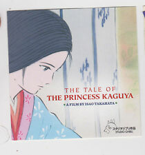 """The Princess Kaguya"" Studio Ghibli Small Sticker Anime Japan Animation Rare"