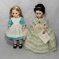 2 Madame Alexander Dolls 12 inch 1552 and 14 inch 1510 CB01118