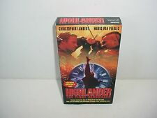 Highlander 3 The Final Dimension VHS Video Tape Movie