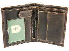 Visconti Mens RFID Blocking Hunters Leather Wallet For Cards Notes Coins - 709