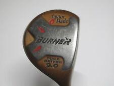 TaylorMade Burner 9 degree Tour Driver Dynamic Gold Steel Shaft Stiff Flex