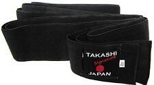 """Giapponese obi-belt Elasticizzati-Flexi """"Kuro"""" IAIDO-KENDO, AIKIDO BLACK BELT"""