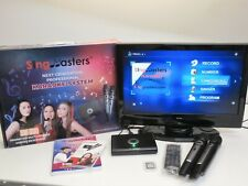More details for singmasters sm-500 karaoke player & wireless microphones - boxed & working