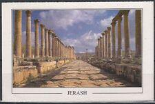 Jordanien Jordan used Post Card Postkarte bauwerk building Jerash [cm644]