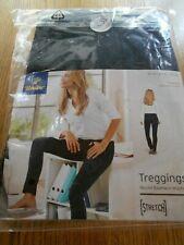 TCM Tchibo Damen Treggings Jerseyhose Hose Leggings Skinny Röhre Stretch Schwarz