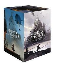 NEW The Mortal Engines Quartet 4 Books Collection by Philip Reeve Boxed Gift Set