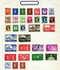 GREAT  BRITAIN: QEII era onwards MINT & used small collection  - see scan