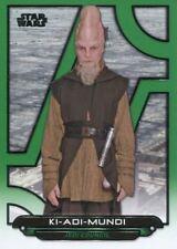 Star Wars Galactic Files Reborn Green Parallel Base Card TPM-19 Ki-Adi-Mundi