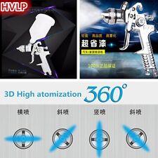 Air Tool Spray Paint Gun Pneumatic Gravity HVLP Nozzle 1.4mm For Car Furniture