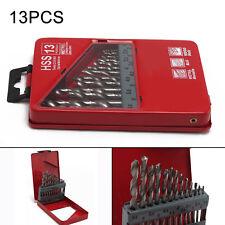 Juego de brocas para taladro para metal D338N HSS1.5-6.5 mm laminadas 13 piezas