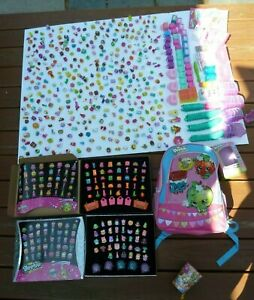 HUGE! The Ultimate Shopkins Lot  MUST SEE !! Well OVER 450 RARE....PLUS access.