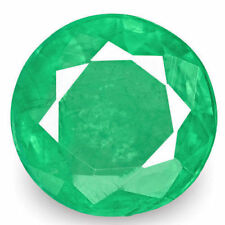 Natural Round Loose Emeralds
