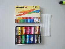 Jaxon 36 er Set Kreide Ölpastellkreide Künstlerkreide Schulkreide Neu