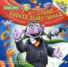 The Count Counts Scary Things (Pictureba