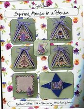 Just Nan: Spring Mouse In A House Chart/Embellishments OOP
