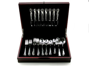Pristine 1952 Engagement by Oneida Sterling Silver Flatware Set