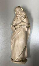 Statuetta in legno della Madonna con Gesù bambino