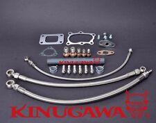 Kinugawa Turbo Oil & Water Line Kit FOR Nissan RB25DET Skyline Stock T3