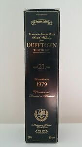 The Antique Collection Bouteille Whisky 21 Ans D'âge Dufftown 1979 Scotch Bottle