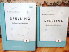 ROD & STAFF SPELLING BOOK 6 Sound & Structure Homeschool Home EducationTextbooks