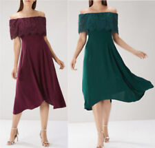 Coast Oriel Lace Burgundy or Forest Green Bardot Dress NEW RRP £119