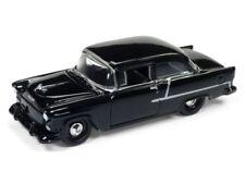 `55 Chevrolet Bel Air 2-Door Black 1955 **RR** Johnny Lightning HOBBY  1:64 OVP