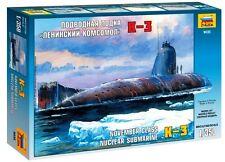 ZVEZDA 9035 - Soviet Nuclear Submarine NOVEMBER K-3 / Scale Model Kit 1/350