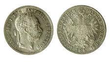 pcc1840_67) Österreich AUSTRIA Francesco Giuseppe I° 1 fiorino 1878