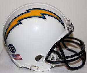 Philip Rivers San Diego Chargers Riddell Custom Mini Helmet - 2012
